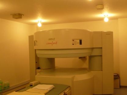 MRI室 (撮影後はデーターをCD−Rでお渡しします
